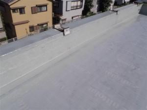 品川区 集合住宅 ウレタン防水 通気緩衝シート貼り3写真