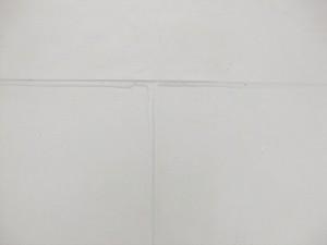 塩ビシート防水平場施工完了写真