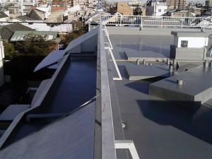 目黒区大岡山屋上防水施工完了3写真