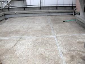 渋谷区オフィスビル防水工事施工前03写真