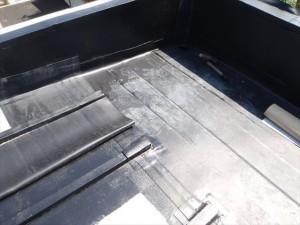 世田谷区喜多見住宅屋根防水 非加硫ゴムシート張り11写真