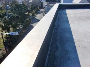 狛江市塩ビシート防水施工前写真