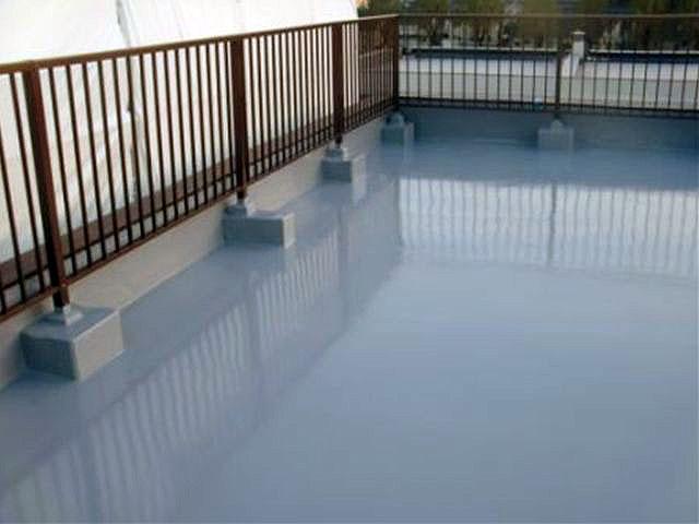横浜市港北区屋上防水 トップコート塗装完了