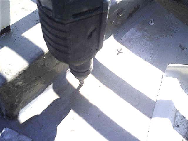 町田市 個人住宅 バルコニーFRP防水 浮きシートアンカー固定1写真