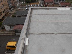 宮前区屋上防水工事11