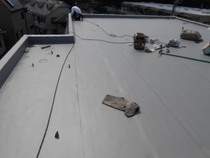 宮前区屋上防水工事32