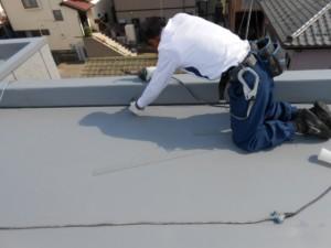 宮前区屋上防水工事40