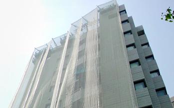 架設ゴンドラによる外装改修工事