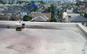 屋上防水:施工前