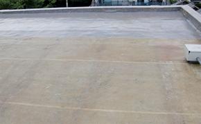 屋上防水:中塗り